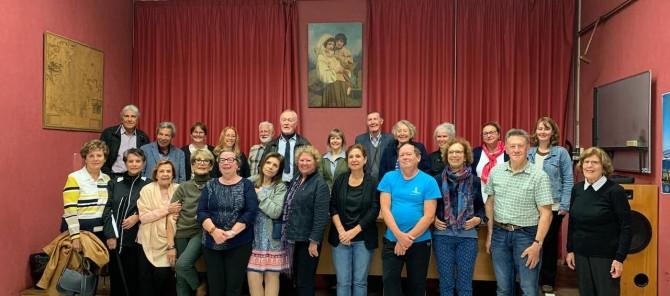 Le Comité du Vieux-Marseille et le groupe de voyage du magazine Continuité, dont notre directrice générale. Quel accueil chaleureux!