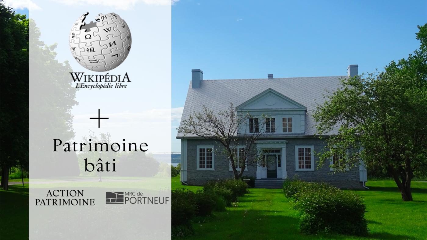 Invitation à l'activité Wikipédia dans la MRC de Portneuf